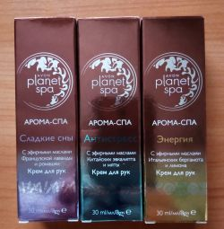 Set of 3 Planet Spa Hand Creams