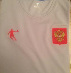 НОВАЯ!В упаковке футболка из ком-та Олимпийской сб