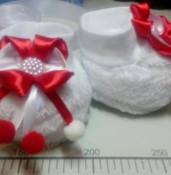 Booties for the newborn