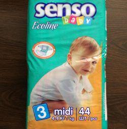 Подгузники Senso