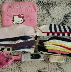 Many fashionable clothes for girls