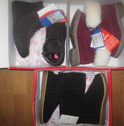 34, 35r Χειμερινές μπότες na.samsha