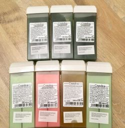 Wax for depilation Cristaline