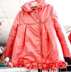 Kızlar için ceketler helva kartı ile ödenebilir