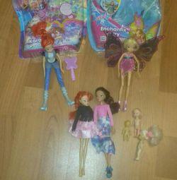 Ляльки Winx (за все)