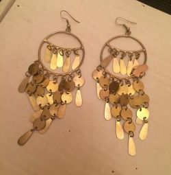 Earrings costume jewelry boho country India
