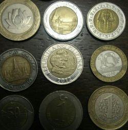 Διμεταλλικά νομίσματα