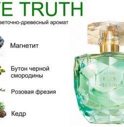 women's perfumery water avon eve truth NEW