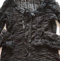 Guipure μπλούζα 42p