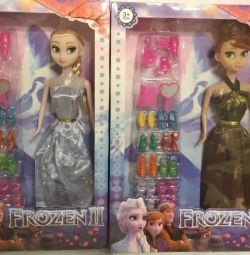 Set Anna and Elsa Frozen with accessories
