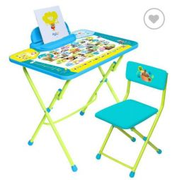 Children's table + chair