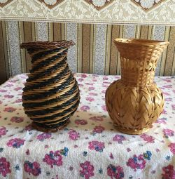 Vaze de răchită