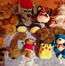 Stuffed Toys. Good condition. Price for everything
