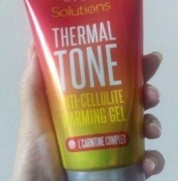 Thermoactive anti-cellulite gel