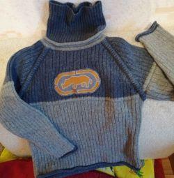 Ζεστό πουλόβερ για ένα αγόρι 4/6 ετών