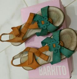 Sandals for a girl