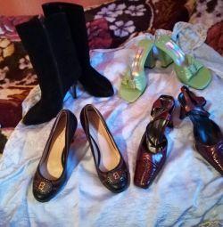 Όμορφα παπούτσια με τακούνια 36 και 37r.