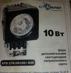 Προβολέας LED προβολέα 10W 30 *