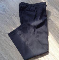 Pantaloni clasic / școală pentru bărbați