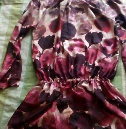 Tunică - bluză cu elastic