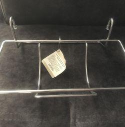 Полка под бумажные полотенца для рейлинга