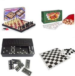 NEW lotto, checkers, dominoes, chess