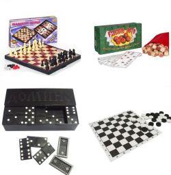 ΝΕΟ κόμμα, πούλια, ντόμινο, σκάκι
