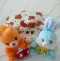 Soft toys (3 pcs.) For one price!