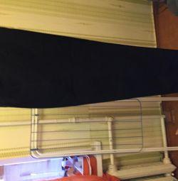 Παντελόνια ανδρικά μαύρα OLVINA