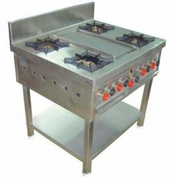 Used India Cooking Range