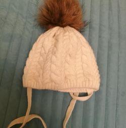 Тепла шапка, р. 44-46
