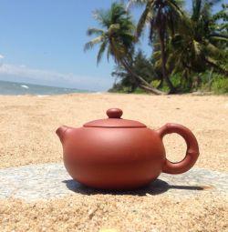 Teapot clay
