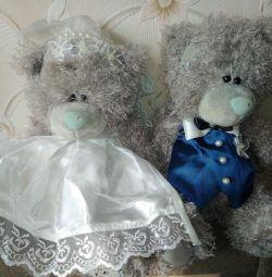 Γαμήλιες αρκούδες (αρκούδες). Ζευγάρι