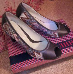 Pantofi din piele Tervolina nou 👍