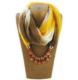 New snood with beads