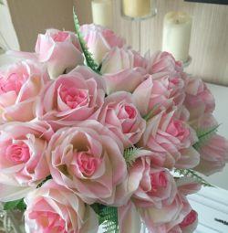 Букет роз искусственный