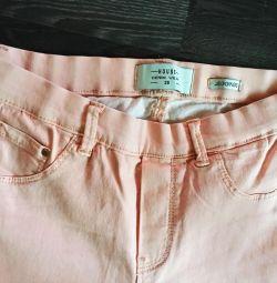 Pants peach female S size
