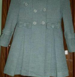 Детское элегантное пальто