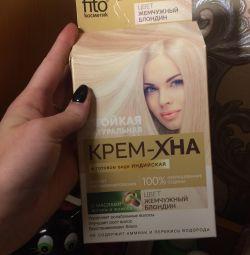 Henna cremă pentru păr