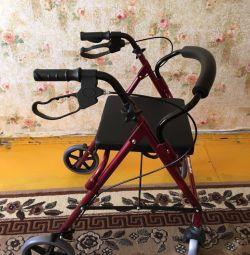 Αναπηρική καρέκλα με κάθισμα, νέα