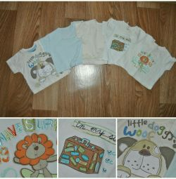 T-shirts for 6-9 months