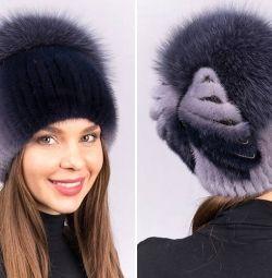 Γούνα καπέλο γυναικών