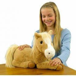 Интерактивная лошадка- пони Animagic