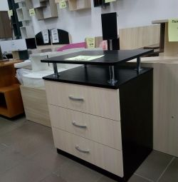 Chest of drawers with shelf (new, available)