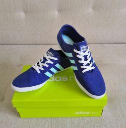 Новые кеды adidas neo (кроссовки)