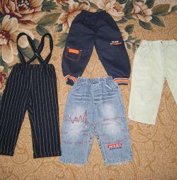 Jeans, pantaloni. măsurători