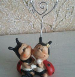 Ladybug Note Holder