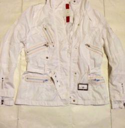 Прекрасна біла куртка.