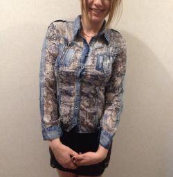 Φούστα και μπλούζα νέα