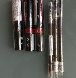 Mascara d / βλεφαρίδες μαύρο Yves Rocher, μολύβι d / φρύδια